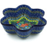 9-inch Stoneware Star Shaped Bowl - Polmedia Polish Pottery H7840I