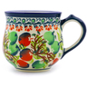 9 oz Stoneware Bubble Mug - Polmedia Polish Pottery H8088I