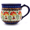 9 oz Stoneware Bubble Mug - Polmedia Polish Pottery H8089I