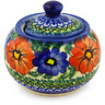 9 oz Stoneware Sugar Bowl - Polmedia Polish Pottery H1257F