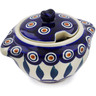 9 oz Stoneware Sugar Bowl - Polmedia Polish Pottery H3380K