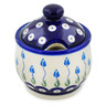 9 oz Stoneware Sugar Bowl - Polmedia Polish Pottery H4106K