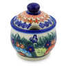 9 oz Stoneware Sugar Bowl - Polmedia Polish Pottery H4108K