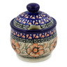 9 oz Stoneware Sugar Bowl - Polmedia Polish Pottery H4350K