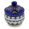 9 oz Stoneware Sugar Bowl - Polmedia Polish Pottery H5197K