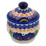 9 oz Stoneware Sugar Bowl - Polmedia Polish Pottery H5200K