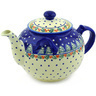 98 oz Stoneware Tea or Coffee Pot - Polmedia Polish Pottery H3066F