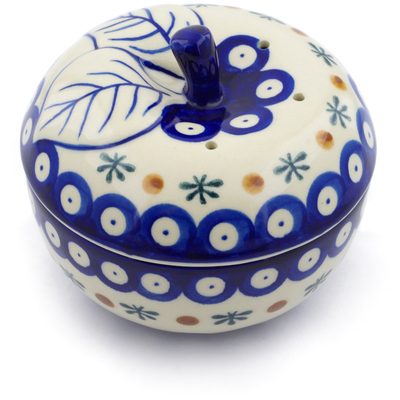 Polish Pottery Apple Baker Mosquito