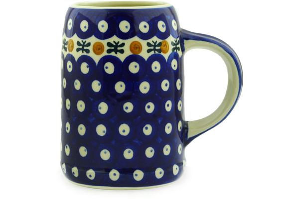 Polish Pottery Beer Mug 24 oz