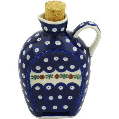 Polish Pottery Bottle 19 oz Mosquito