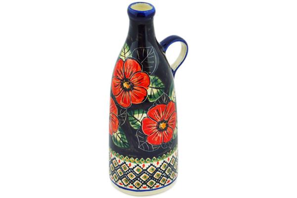 Bottle 24 oz Poppy Passion UNIKAT
