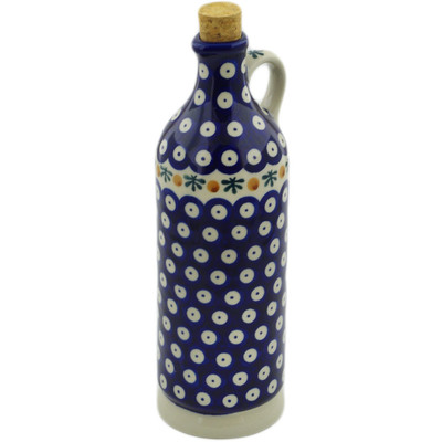 Polish Pottery Bottle 27 oz Mosquito
