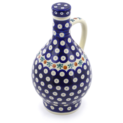 Polish Pottery Bottle 34 oz Mosquito