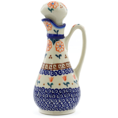 Polish Pottery Bottle 5 oz Amarillo