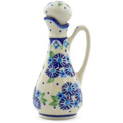 Polish Pottery Bottle 5 oz Aster Patches