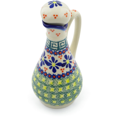 Polish Pottery Bottle 5 oz Irish Spring