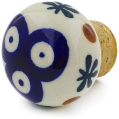 "Polish Pottery Bottle Stopper 2"" Mosquito"