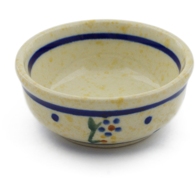 "Polish Pottery Bowl 2"" Country Meadow"