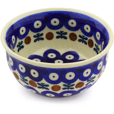 "Polish Pottery Bowl 4"" Mosquito"
