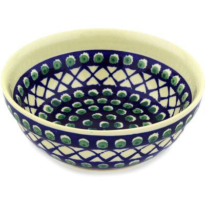 "Polish Pottery Bowl 7"" Abracadabra"