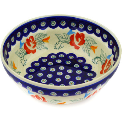 Polish Pottery Bowl 7""
