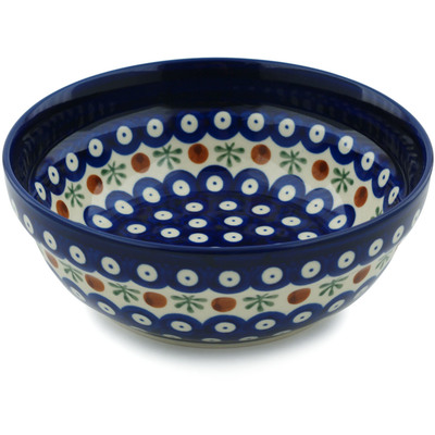 "Polish Pottery Bowl 7"" Mosquito"
