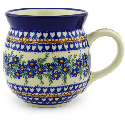 Polish Pottery Bubble Mug 16 oz Mother's Love UNIKAT