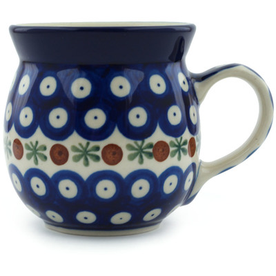 Polish Pottery Bubble Mug 8 oz Mosquito