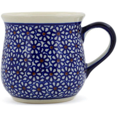Polish Pottery Cup 10 oz Daisy Dreams