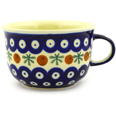 Polish Pottery Cup 8 oz Mosquito