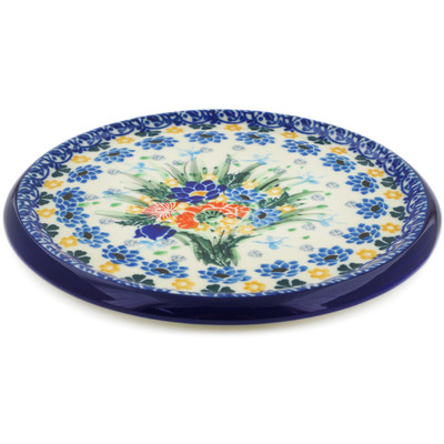 "Polish Pottery Cutting Board 7"" UNIKAT"