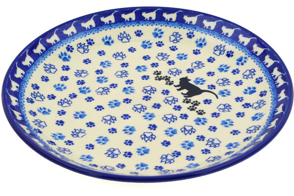 sc 1 st  Polmedia Polish Pottery & Dinner Plate 10½-inch Boo Boo Kitty Paws