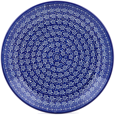 Polish Pottery Dinner Plate 10½-inch Night Sky