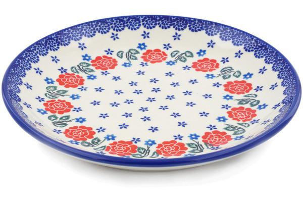 sc 1 st  Polmedia Polish Pottery & Dinner Plate 10½-inch Rose Burst