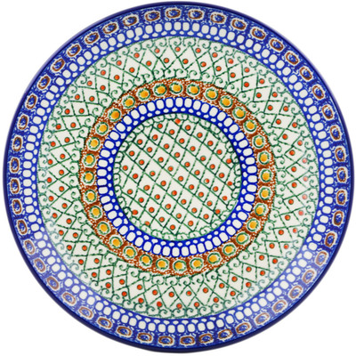 Polish Pottery Dinner Plate 10½-inch Turkish Delight UNIKAT