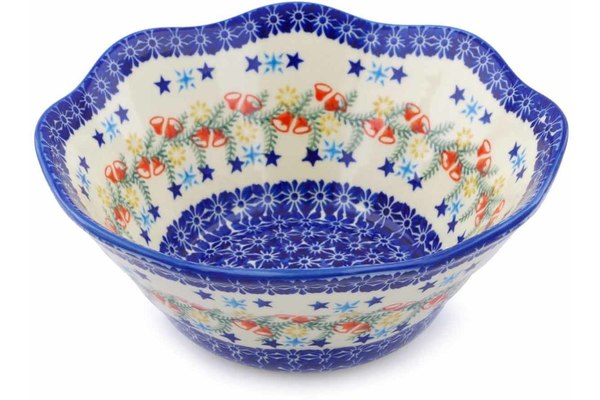 sc 1 st  Polmedia Polish Pottery & Fluted Bowl 9