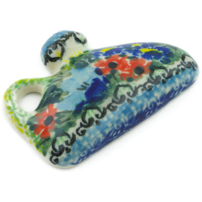 "Polish Pottery Magnet 2"" Splendid Meadow UNIKAT"