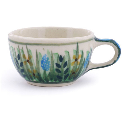 "Polish Pottery Mini Cup 2"" Prairie Land UNIKAT"