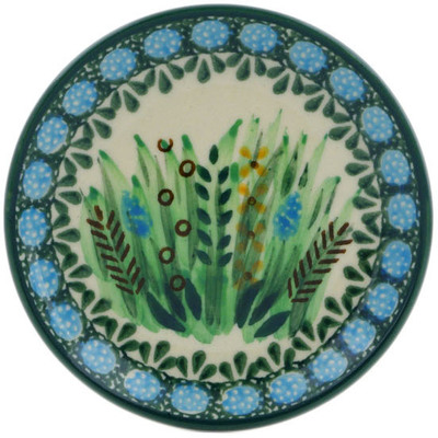 Polish Pottery Mini Plate Prairie Land UNIKAT