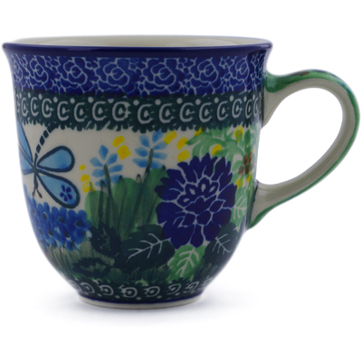 Polish Pottery Mug 10 oz Garden Delight UNIKAT