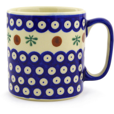Polish Pottery Mug 10 oz Mosquito