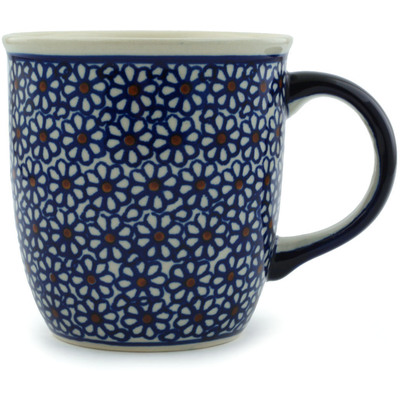 Polish Pottery Mug 12 oz Daisy Dreams