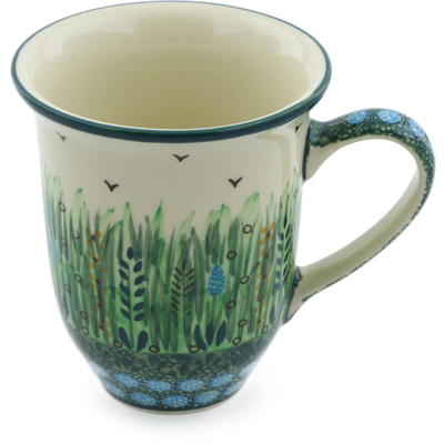 Polish Pottery Mug 15 oz Prairie Land UNIKAT