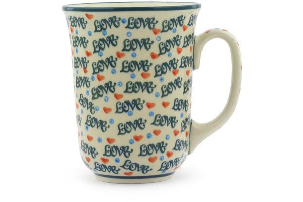 Polish Pottery Mug 17 oz