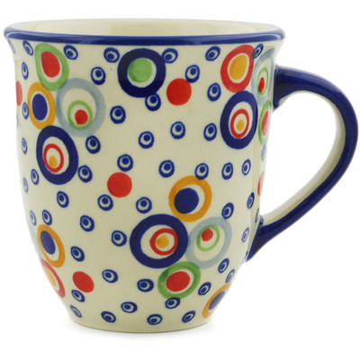 Polish Pottery Mug 17 oz UNIKAT