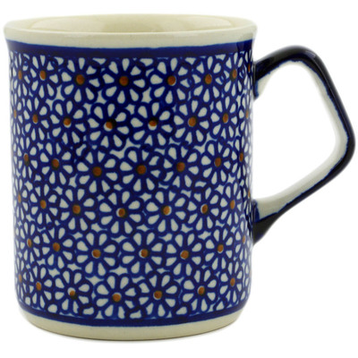 Polish Pottery Mug 8 oz Daisy Dreams