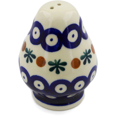 "Polish Pottery Pepper Shaker 3"" Mosquito"