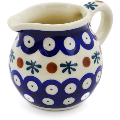 Polish Pottery Pitcher 8 oz Mosquito