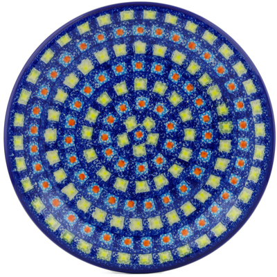 "Polish Pottery Plate 10"" Mosaic Tile"