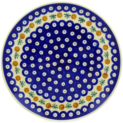 "Polish Pottery Plate 10"" Mosquito"